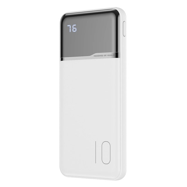 10000mAh Portable Charging PowerBank 10000 mAh USB PoverBank External Battery Charger For Xiaomi Mi 9 8 iPhone