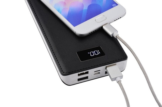 Powerbank 50000mAh Power Bank LED External Backup Battery Charger 4-USB Charge Ports Battery Portable Charge battery