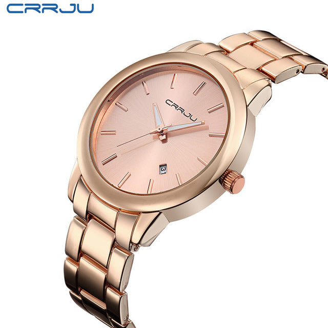 Montre Homme Relogio Women Gold Mens Watches