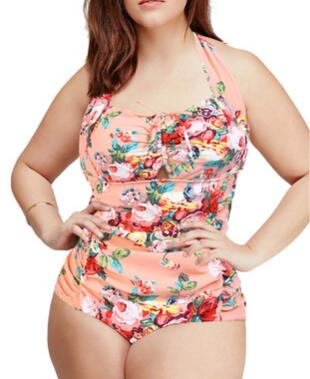 New style plus size women swimsuit for summer swimming suit
