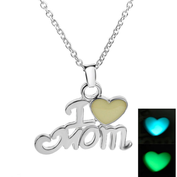 Luminous Daughter & Best Mom Love Heart I love Mom Mothers Day Gifts