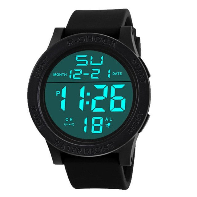 Fashion Men Sports Watches HONHX Brand LED - Bara Jan Store