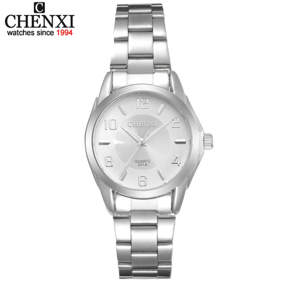 Relogio Feminino Gift Clocks Female Stainless Steel Watch Ladies Fashion Casual Watch Quartz