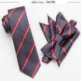 20 Style Neck Tie Bowtie Cravat Set,Skinny tie set, pocket square set,men necktie,wedding ties,Polyester