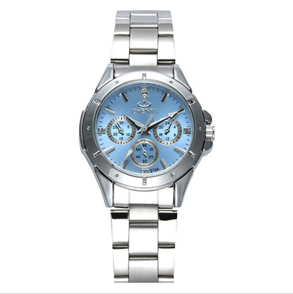 Women Fashion Watches Ladies Quartz Watch Women's Elegant Dress Stainless Steel Wristwatches