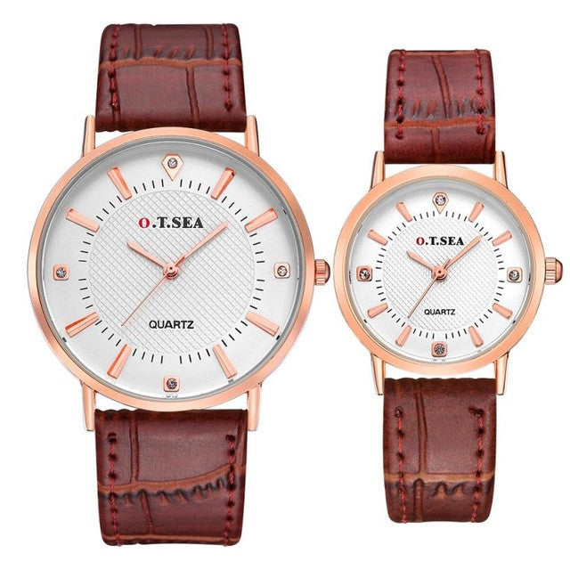 Luxuary Brand Classic Couples Watches - Bara Jan Store