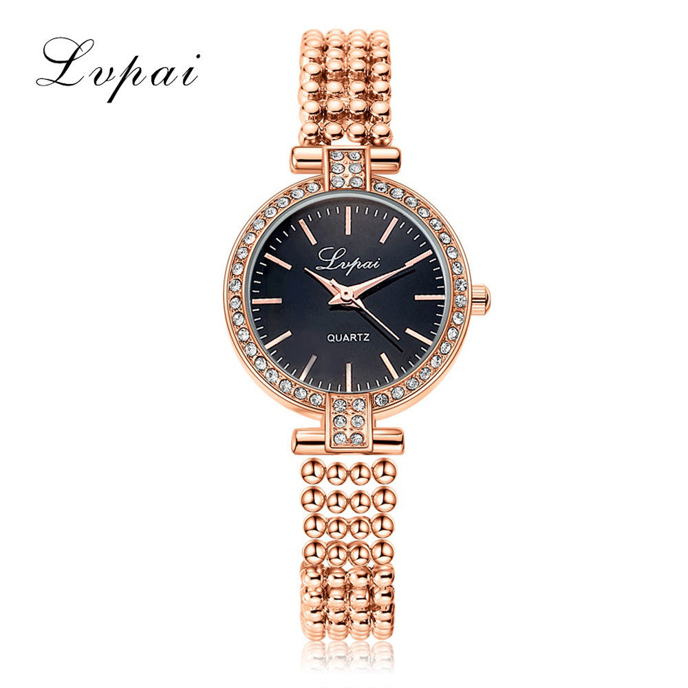 Unisex Stainless Steel Rhinestone Quartz Wrist Watch - Bara Jan Store