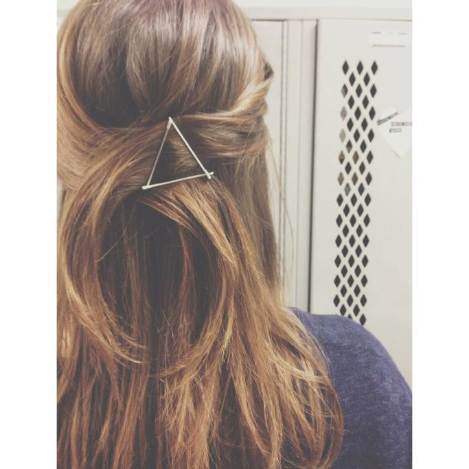Fashion Women geometric Barrette Hairpin Hair Clip Headband