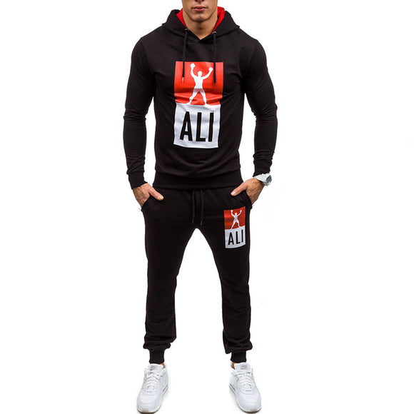Male Fashion Sweatshirts Clothing Cardigan Tracksuit Set Summer