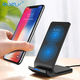 10W Qi Wireless Charger For iPhone X 8 Plus Fast Charging Holder For Samsung S8 Plus S7 S6 edge Note 8 Phone Fast Charger
