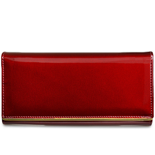 3da8d46df7d ... Beth Cat Wallet Female Long Womens Wallets Purses High Quality Solid  Genuine Leather ...