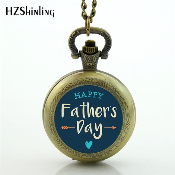 Great Father Men Pocket Watch High Quality Happy Father's Day Gifts