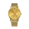 Women Men Fashion Classic Gold Quartz Stainless Steel Wrist Watch quartz