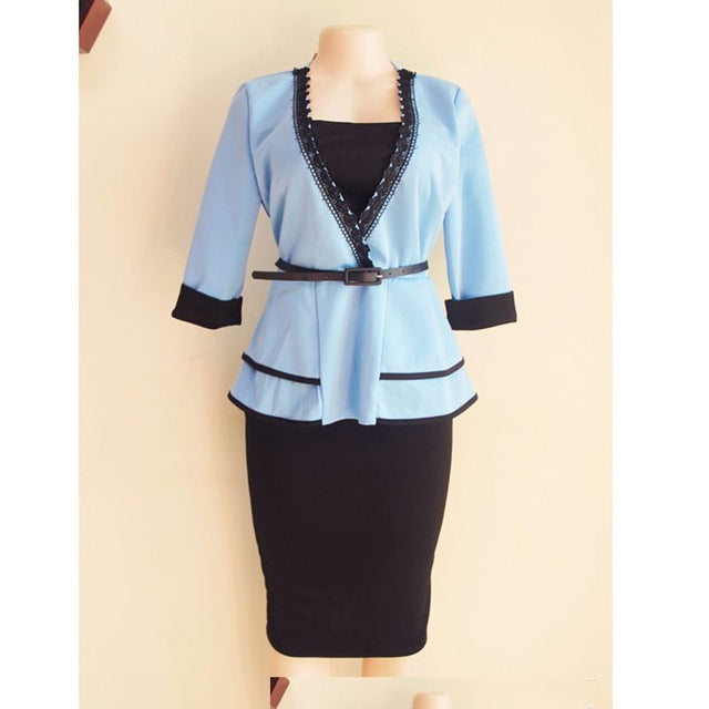 Women tops skirts set suits outfit dresses two 2 piece set