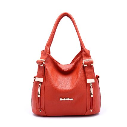 Women's fashion Genuine Leather Women's classic Cowhide Tassel Bag 4 colors