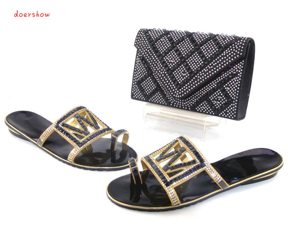 Matching Shoes and Bags for African Partys Italian Shoes with Matching Bags High Quality Women Shoe and Bag Sets