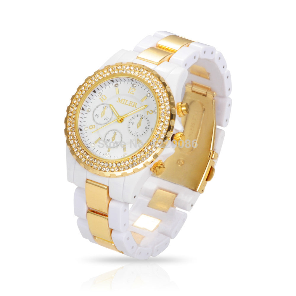 Women Quartz Watches Luxury Brand Rhinestone Wrist Watches Unisex