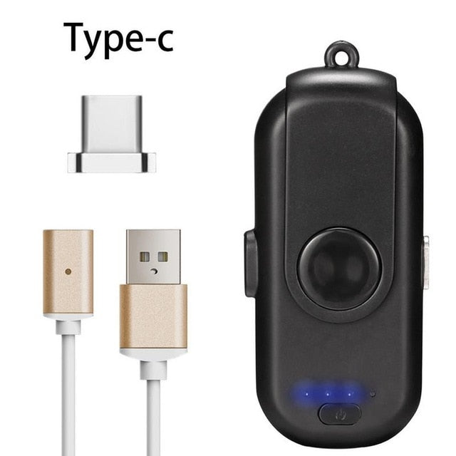 Magnetic Power Bank Mini Finger Emergency Mobile Power Magnetic Portable Mobile Fast Charging External Battery