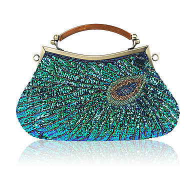 Women's Bags Polyester Evening Bag Beading for Wedding Event/Party All Seasons - Bara Jan Store