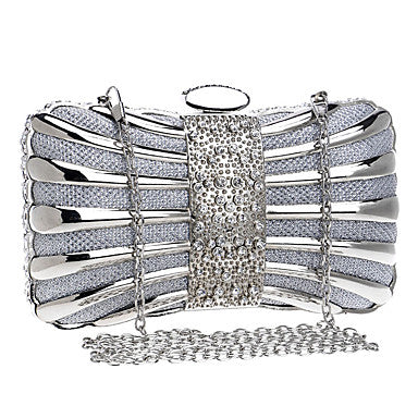 Women's Bags Polyester Evening Bag Metallic for Wedding Event/Party Formal All Seasons - Bara Jan Store