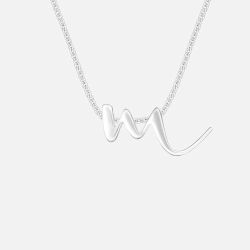Letter M | Necklace - BeaudellJewellery