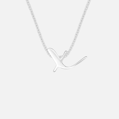 Letter X | Necklace - BeaudellJewellery