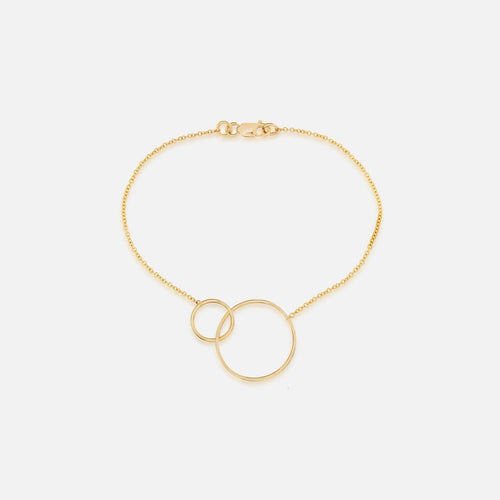 Linked Circle Bracelet - BeaudellJewellery