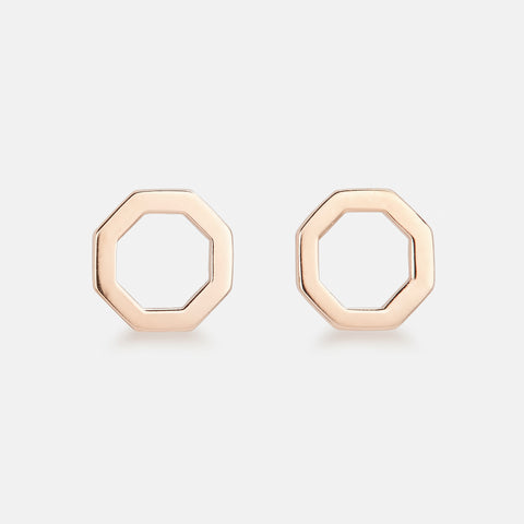 Poppy Pear | Light Pink Straight Silver Ring