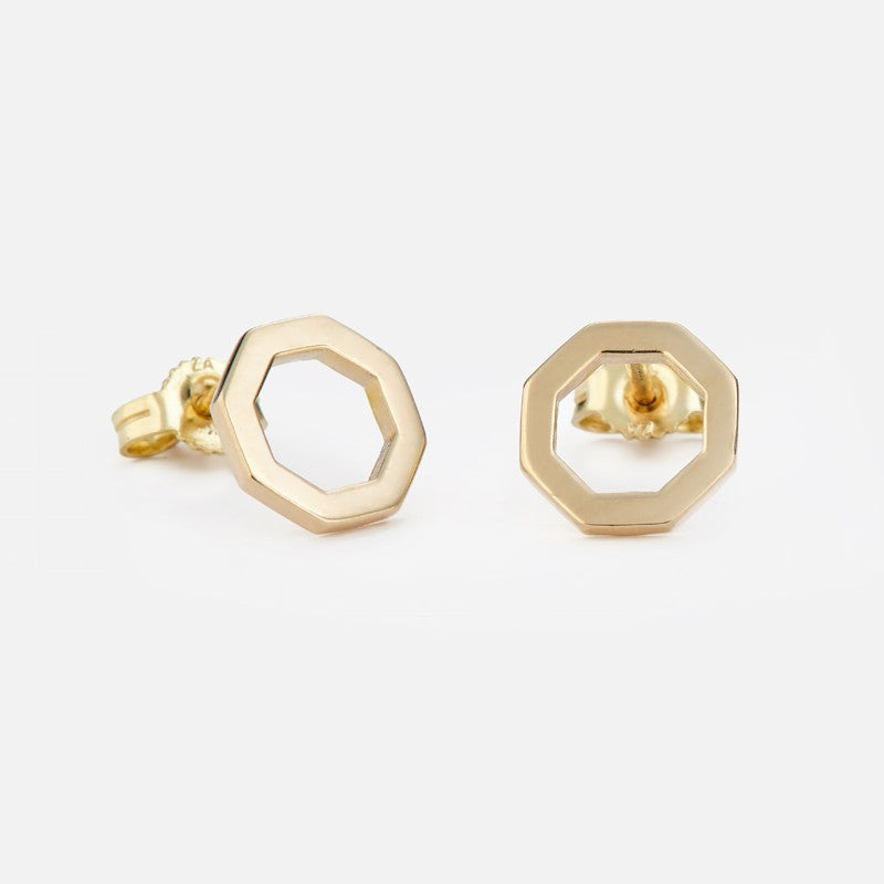 Honey Comb Studs - BeaudellJewellery