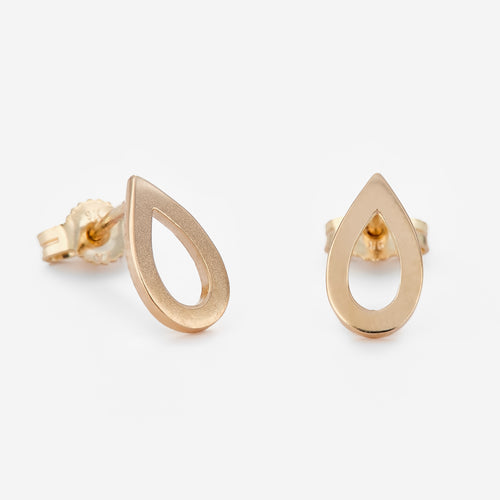 Tear Drop Studs - BeaudellJewellery