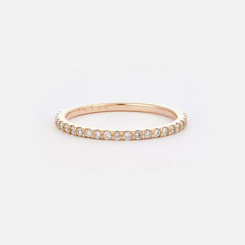 Half-Eternity Diamond Ring - BeaudellJewellery