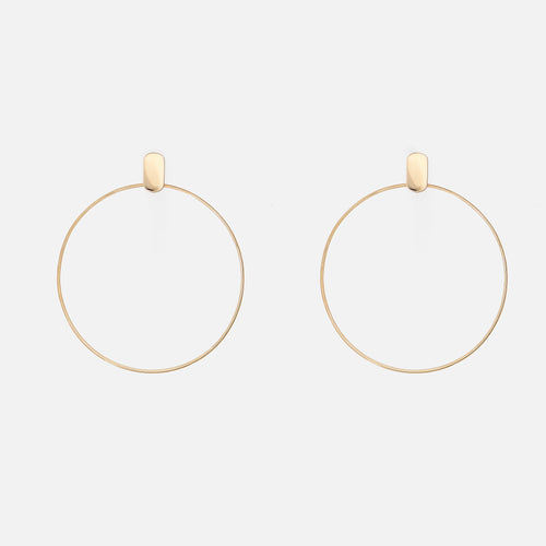 Elara | Gold Earrings - BeaudellJewellery