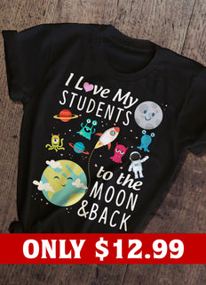 Students And Teacher T-shirt