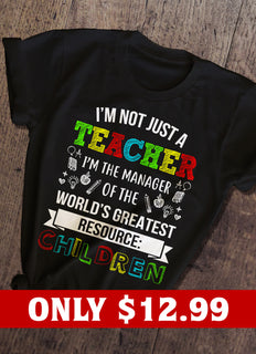 Children And Teacher T-shirt