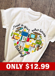 Just A Girl Heart T-shirt