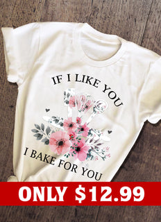Flower Bake T-shirt
