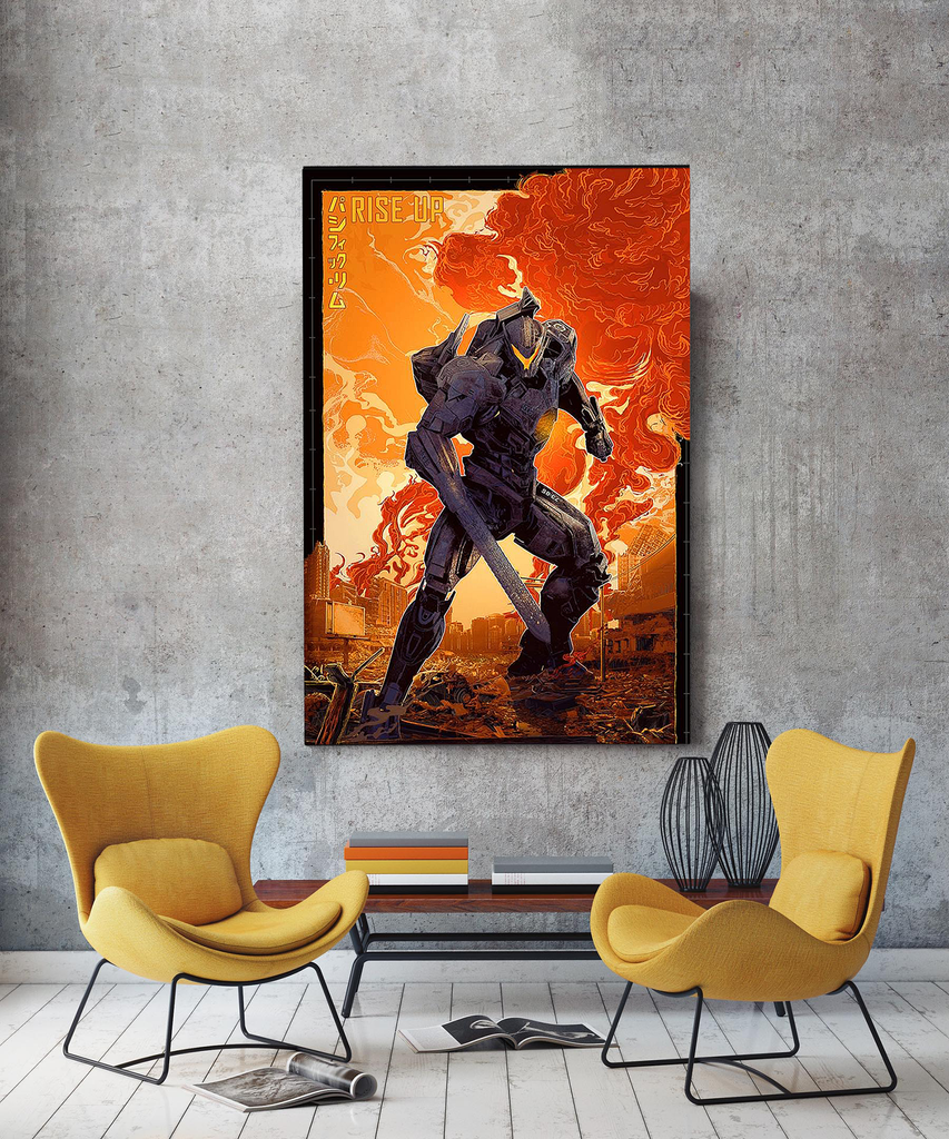 Pacific Rim Uprising Gipsy Avenger Canvas