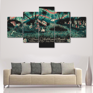 Dave Matthews 5 Pieces Canvas Album Art