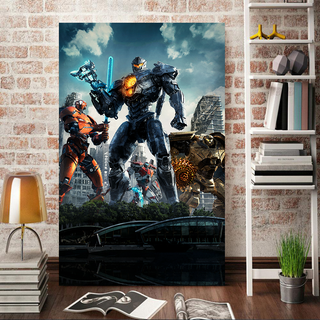 Pacific Rim Uprising Jaegers Canvas
