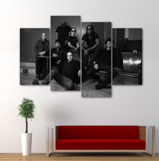 Dave Matthews Band 4 Pieces Canvas