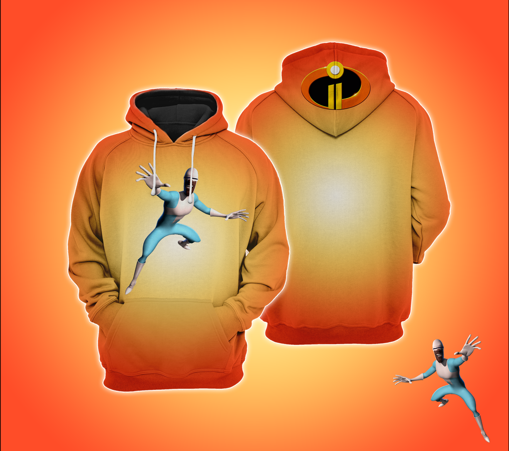 The Incredibles 2 Frozone Hoodie