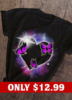 Light And Butterfly T-shirt