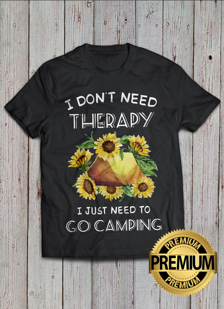 Therapy Camping T-shirt