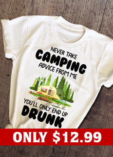 Camping Advise T-shirt