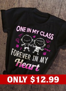 Heart And Teacher T-shirt