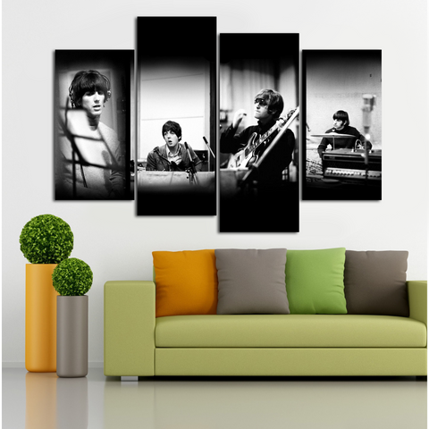 The Beatles Studio 4 Piece Canvas