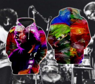 Jerry Garcia Colorful Hoodie