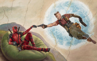 Deadpool and Cable Canvas