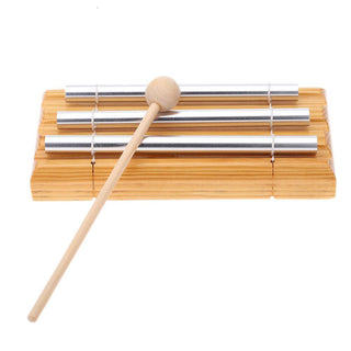 Energy Chime Three Tone with Mallet Exquisite Eastern Sound