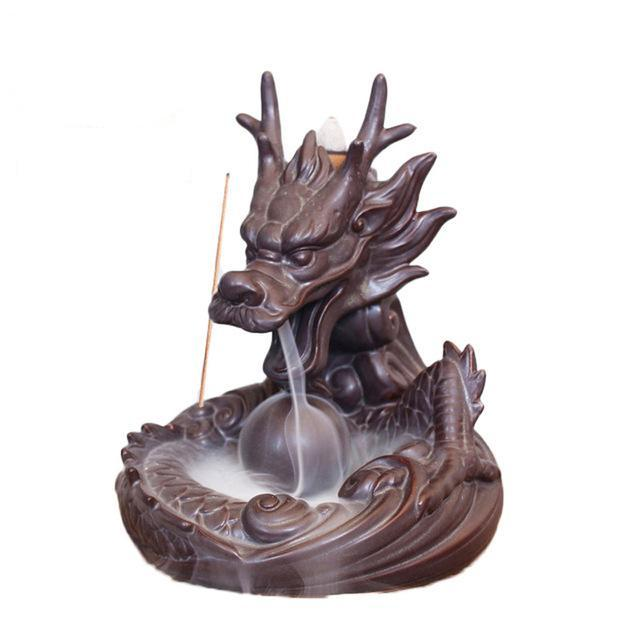Dragon Incense Holders Extra 50 Pieces Mixed Cones